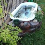 Awesome outdoor junk garden to reuse your old stuff 04