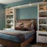 Stunning bookshelves ideas for bedroom decoration 07