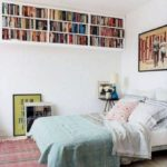 Stunning bookshelves ideas for bedroom decoration 12