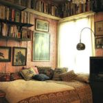 Stunning bookshelves ideas for bedroom decoration 14