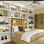 Stunning bookshelves ideas for bedroom decoration 16