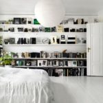 Stunning bookshelves ideas for bedroom decoration 26