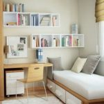 Stunning bookshelves ideas for bedroom decoration 33