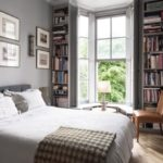 Stunning bookshelves ideas for bedroom decoration 34