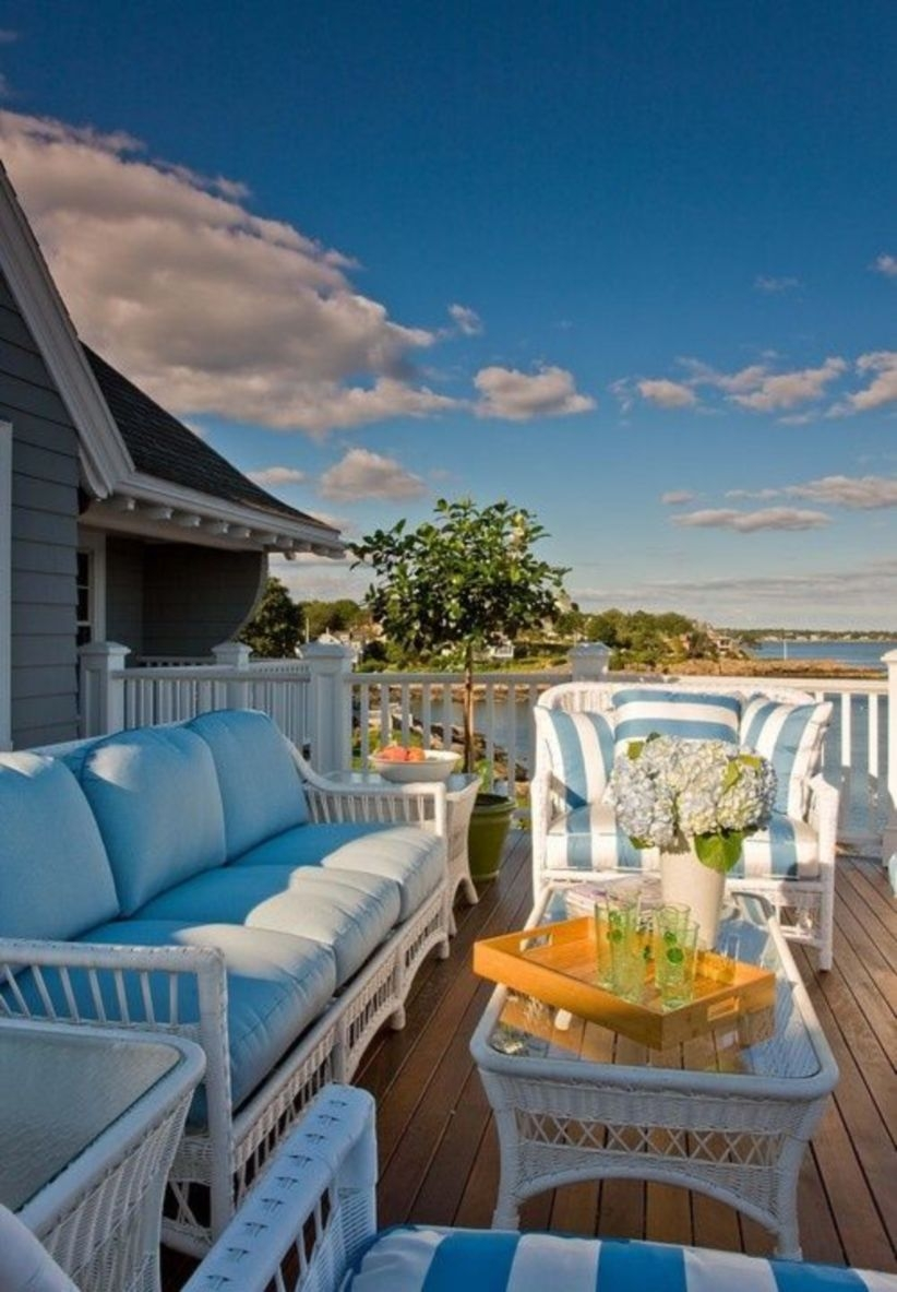 Cool beach and beach inspired for outdoor living space
