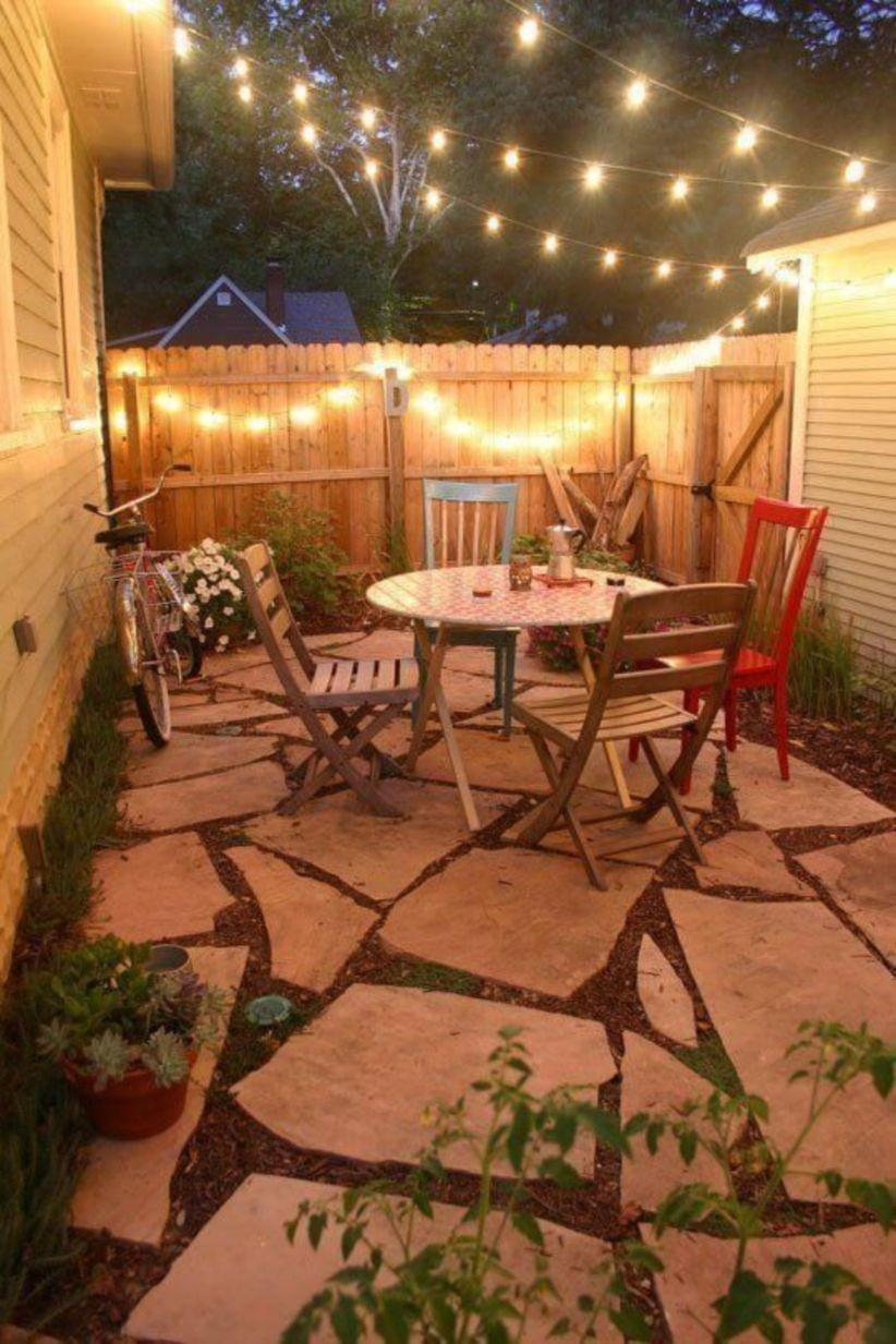 Easy diy projects to make oudoor living space