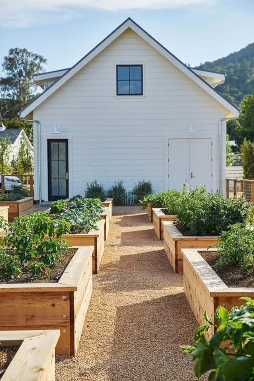 15 Lovely Raised Vegetables Garden Ideas