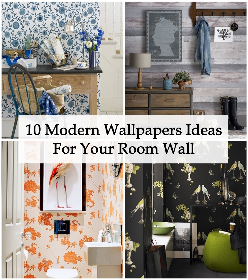 10 Modern Wallpapers Ideas For Your Room Wall  Matchness.com