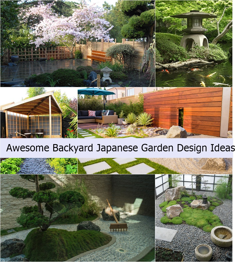 Home Garden Design Ideas Japanese Garden Design Ideas: Awesome Backyard Japanese Garden Design Ideas