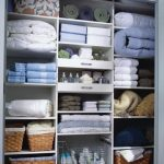Ways to organizing your chaotic linen closet 14