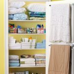 Ways to organizing your chaotic linen closet 32