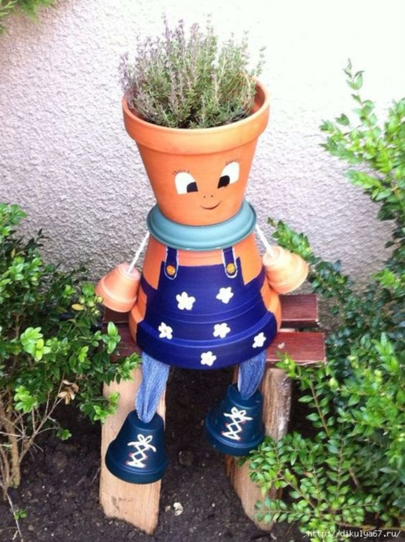 46 Flower Pot Decoration Ideas That You Can Try in Your Home
