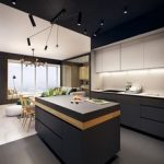 Wood kitchenset design ideas that you can try 27