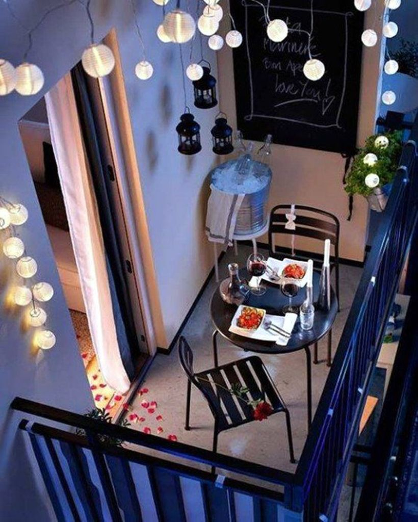 Small round string lamps ideas