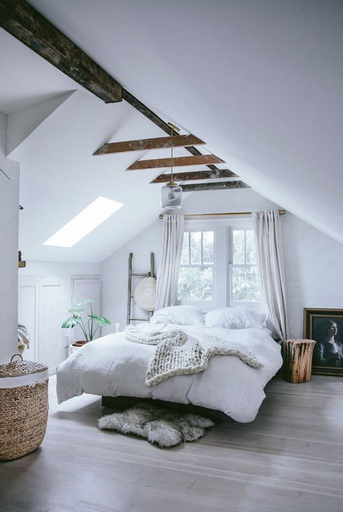 Plant decoration to perfect your loft bedroom