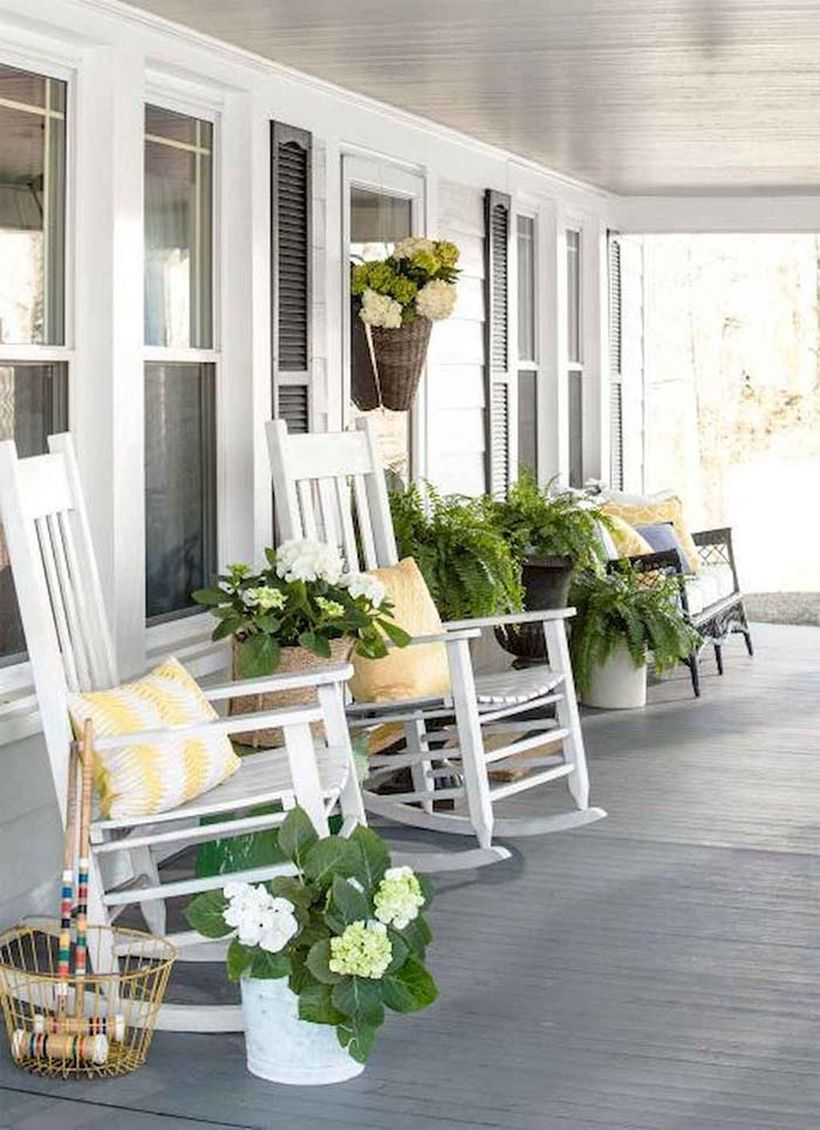 Solid wooden floor and entryway basket planters