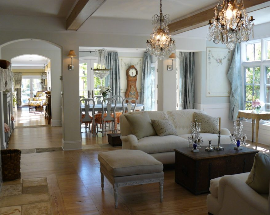 Shabby-chic-living-room-inspiration-glamorous-french-country-curtain